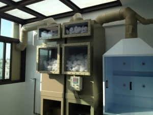 室內型廢氣處理塔