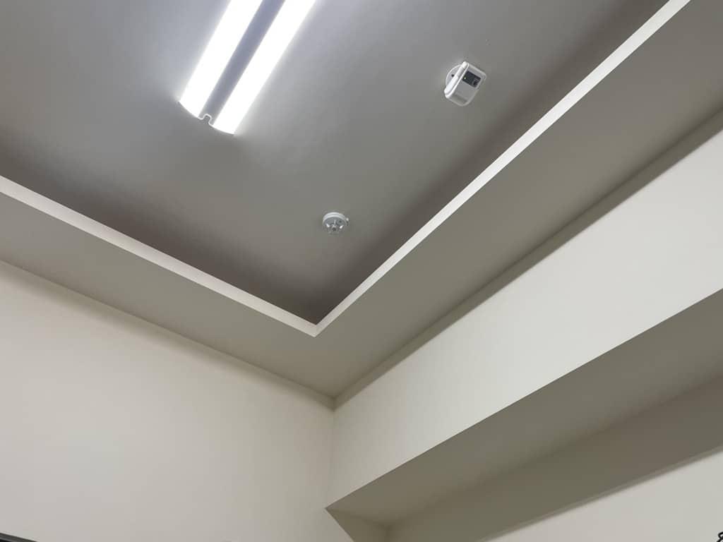 輕鋼架暗架天花板